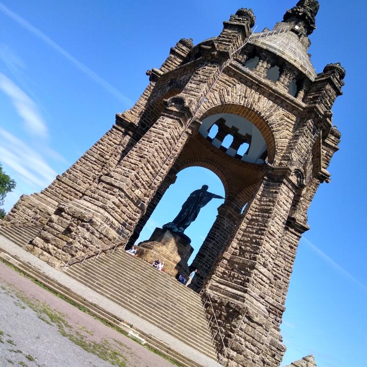 Kaiser-Wilhelm-Denkmal bei Porta Westfalica