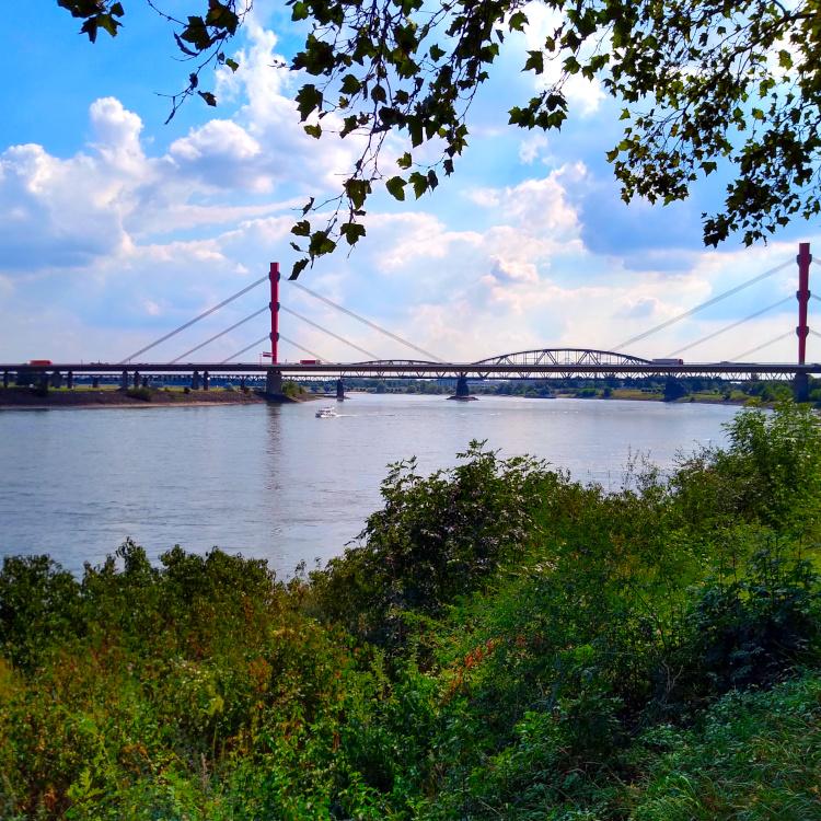 Beekerwerther Rheinbrücke