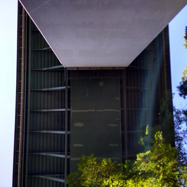 Die Unterseite der Mintarder Ruhrtalbrücke
