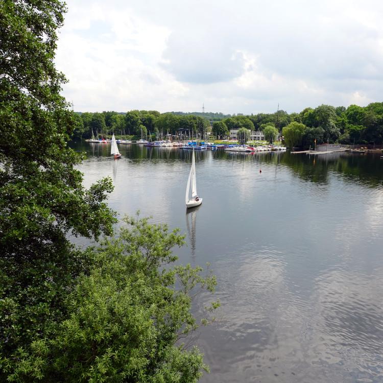 Segelboote auf dem Masurensee