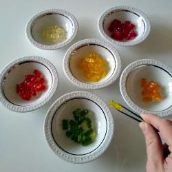 Foto zu Lifehack, Gummibärchen, Herbst, farbe