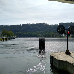 Foto zu Frühstück, Schiff, Wasserbahnhof, Mülheim, Ruhr, Essen, Werden, Schleuse, Kettwig