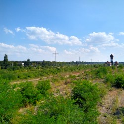 Foto zu Güterbahnhof, Duisburg, Wedau, Gleis, Natur, Wasserturm, Stellwerk