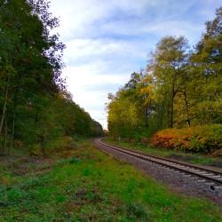 Foto zu Bahnstrecke, Mülheim, Speldorf, Krefeld, Köln, Duisburg, Eisenbahn, Gleis, Rhein, Ruhr, Hafen