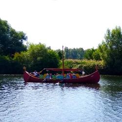 Foto zu Schiff, Ruhr, Mülheim, Wikingerboot