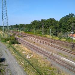 Foto zu Güterbahnhof, Duisburg, Wedau, Gleis, Güterverkehr, Hauptbahnhof, Entenfang